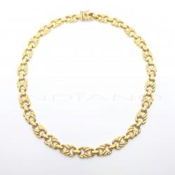Gargantilla Oro Lazos Calados BrilloP005504521