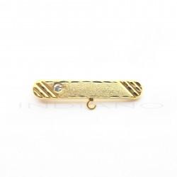 Alfiler Bebe Oro Ovalado CirconitaP010200727