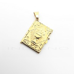 Colgante Oro Libro con CalizP005504485
