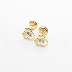 Pendientes Oro Minnie Calados CirconitaP026300181