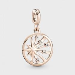 Medallón Panodra Me Rose 14k Rayos de Vida789676C01