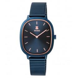 Reloj Tous Heritage Brick IP azul/rosado100350620