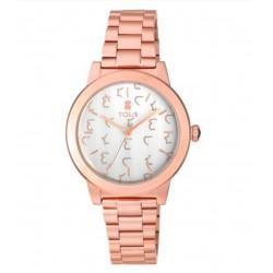 Reloj Glazed de acero IP rosadoReloj Tous Glazed IP rosado100350640