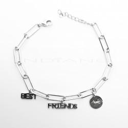 Pulsera Plata Best FriendsP026600247