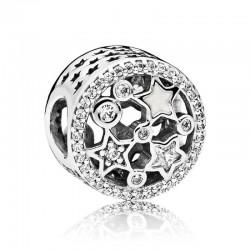 Charm Pandora en Filigrana Estrellas Iluminadas