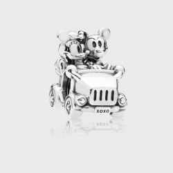 Charm Pandora Coche Vintage Mickey&Minnie