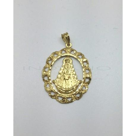 Medalla Oro Virgen del Rocio Orla