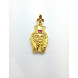 Colgante Oro Esfinge Egipcia RubiP013400430