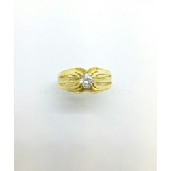 Solitario Oro Cuatro Garras CirconitaP002500131