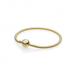Pulsera Moments en PANDORA Shine sin roscas para charms567107-18