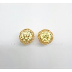 Pendientes Oro Moneda Enamorados
