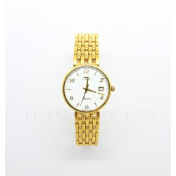 Reloj Oro Lotus Redondo