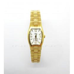 Reloj Oro Lotus Ovalado