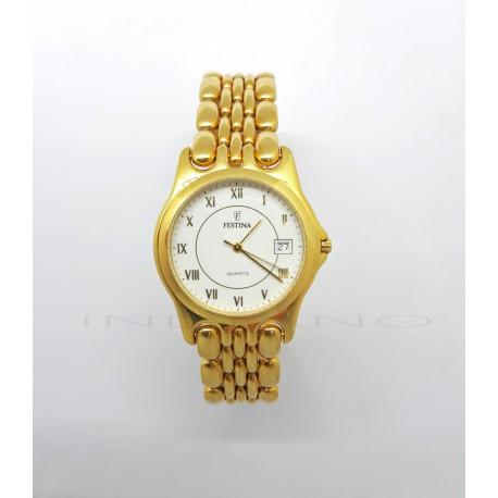 Reloj Oro Festina Redondo