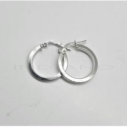 Pendientes Oro Blanco ArosP011000643