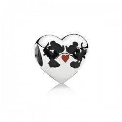 Charm Pandora Beso de Mickey & Minnie791443ENMX