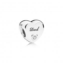 Charm Pandora Amor de Padre796458CZ